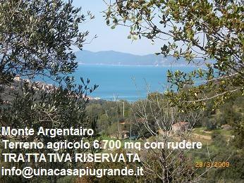 Terreno Agricolo Monte Argentario