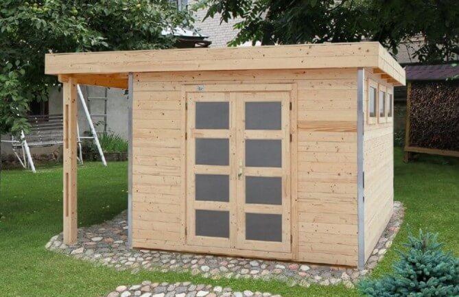piccola casetta in legno