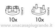 fissaggio specchio krabb Ikea