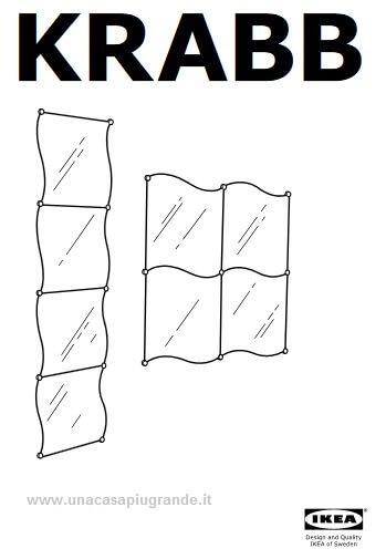 Montare uno specchio ikea krabb comprare e vendere casa - Ikea specchi adesivi ...