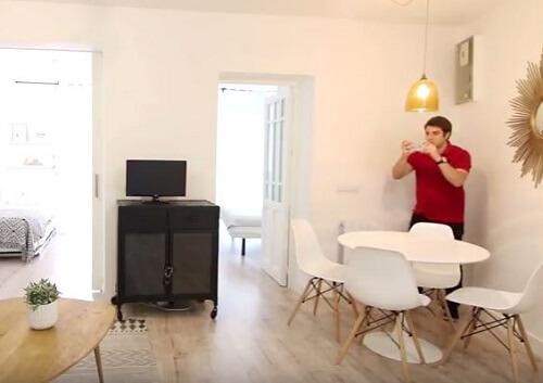 come fotografare una stanza