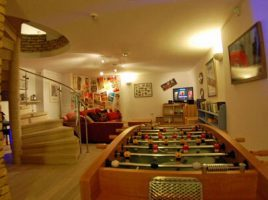 games room in casa