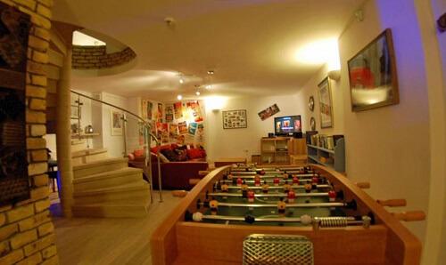 games room in casa