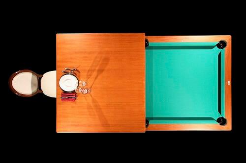 Biliardo tavolo alto