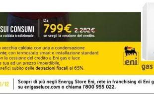 offerta EnelX caldaia con cessione del credito