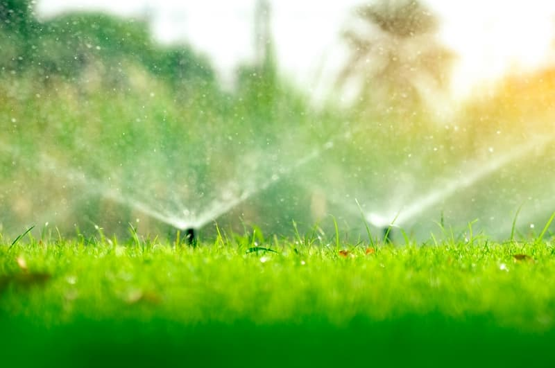 irrigatore per giardino